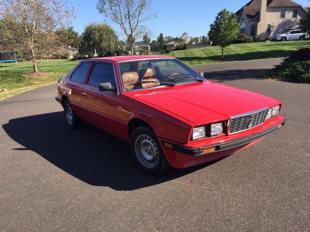 VERY NICE 1985 Maserati Biturbo