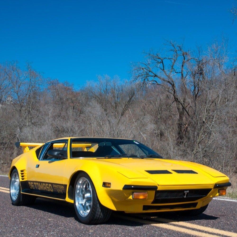 AMAZING 1973 De Tomaso Pantera GT5
