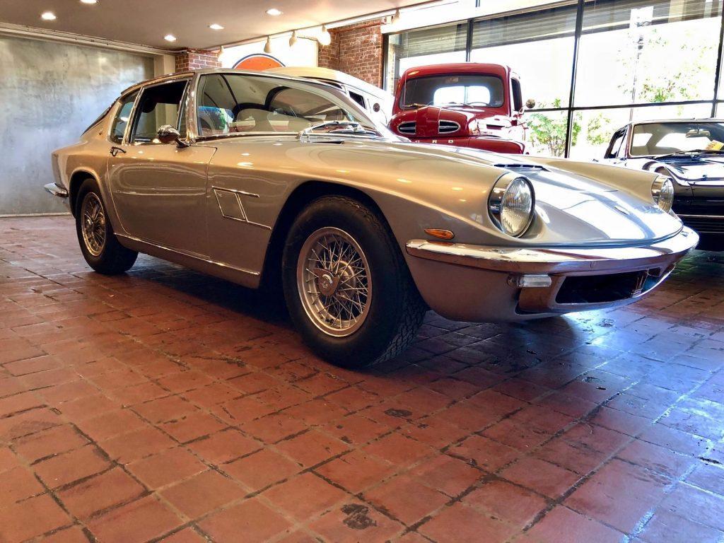 GORGEOUS 1966 Maserati Mistral