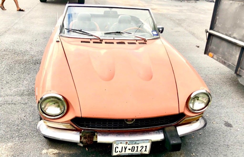 1974 Fiat 124 Spider In Good Condition For Sale