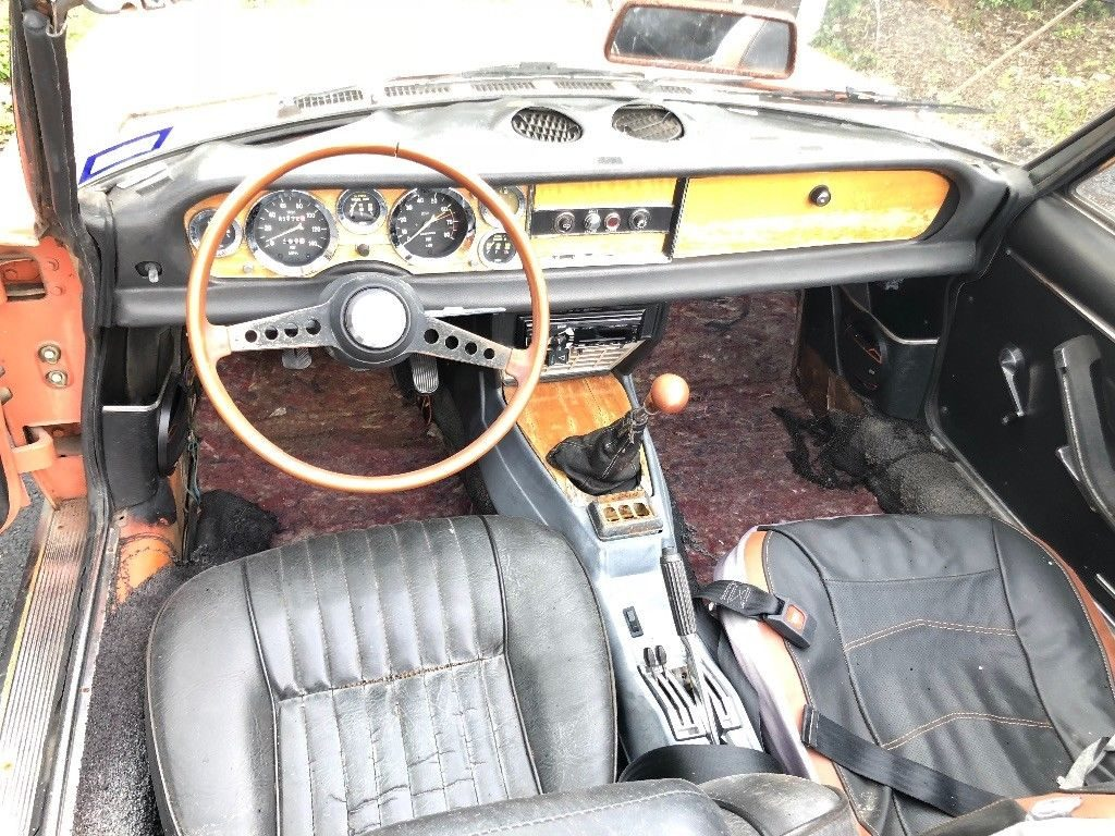 1974 Fiat 124 Spider in good condition