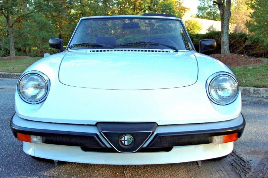1990 Alfa Romeo Spider – Drives Beautifully