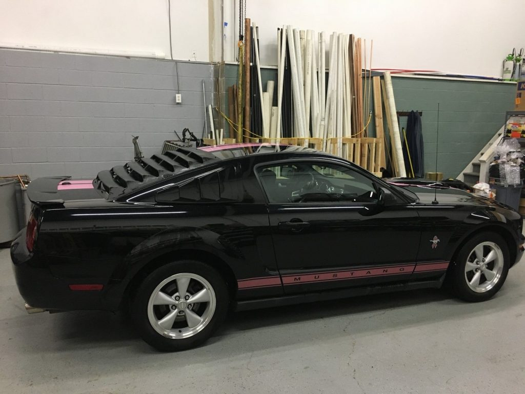2008 Ford Mustang Warrior in Pink – Good Condition