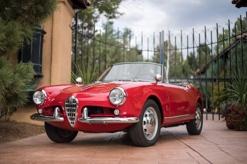 AMAZING 1961 Alfa Romeo Giulietta Spider